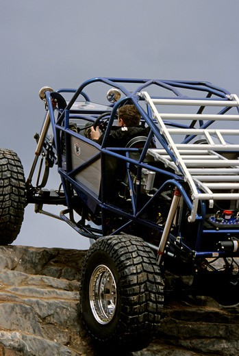 rock crawler,roll cage : Stock Photo