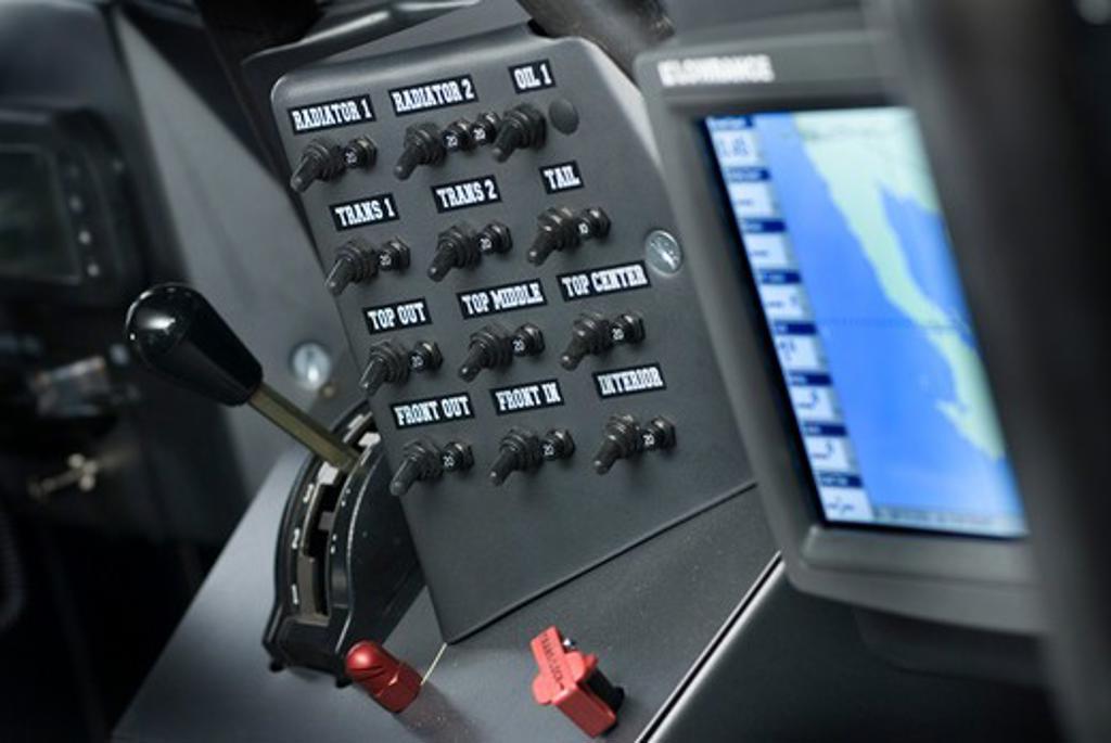 Stock Photo: 4093-3331 Baja Race truck interior