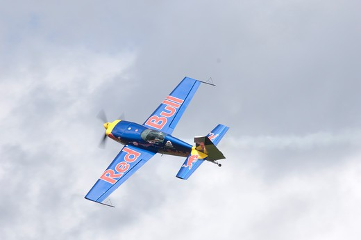 MX2 Aircraft in Red Bull Air Race : Stock Photo