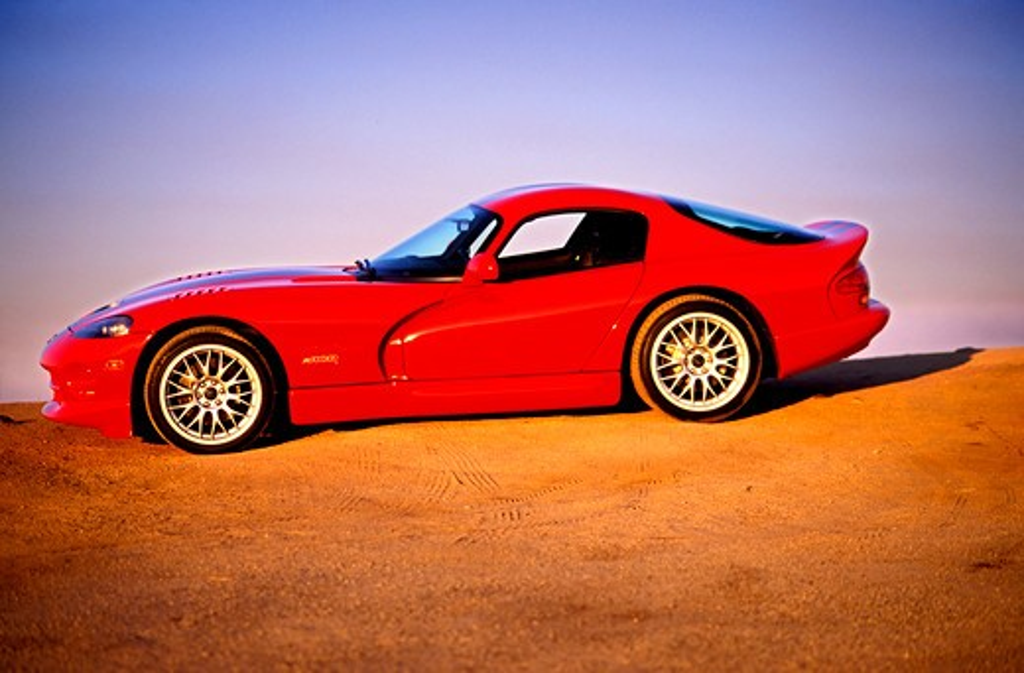 Dodge Viper 2001 red : Stock Photo