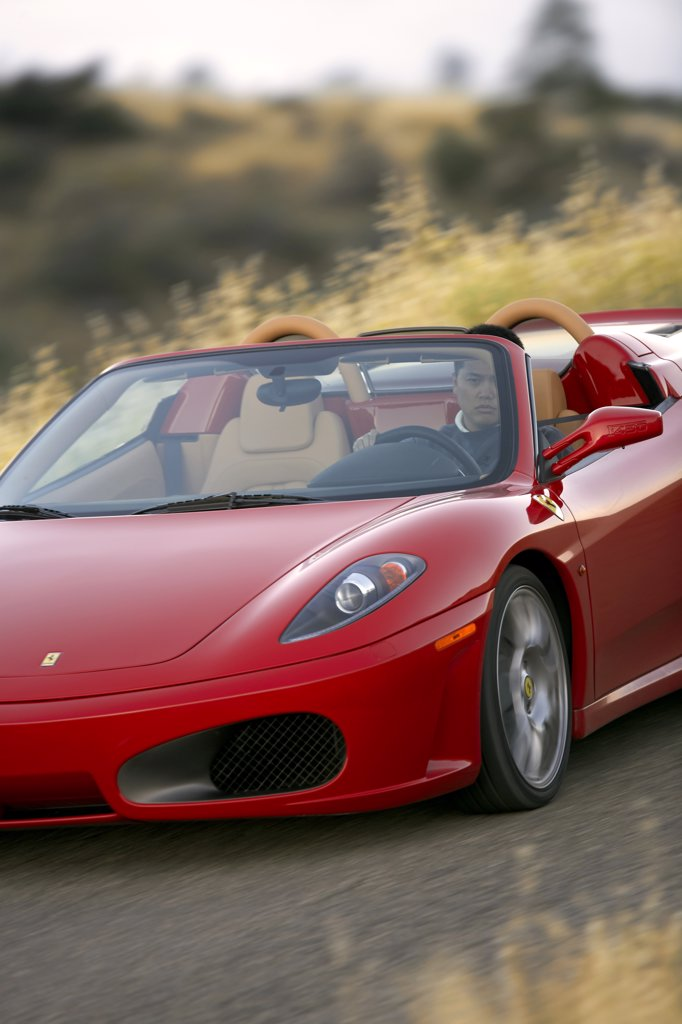 Stock Photo: 4093-4888 Italian Manufacturers European Manufacturers 2006 Ferrari F430 Spider Red