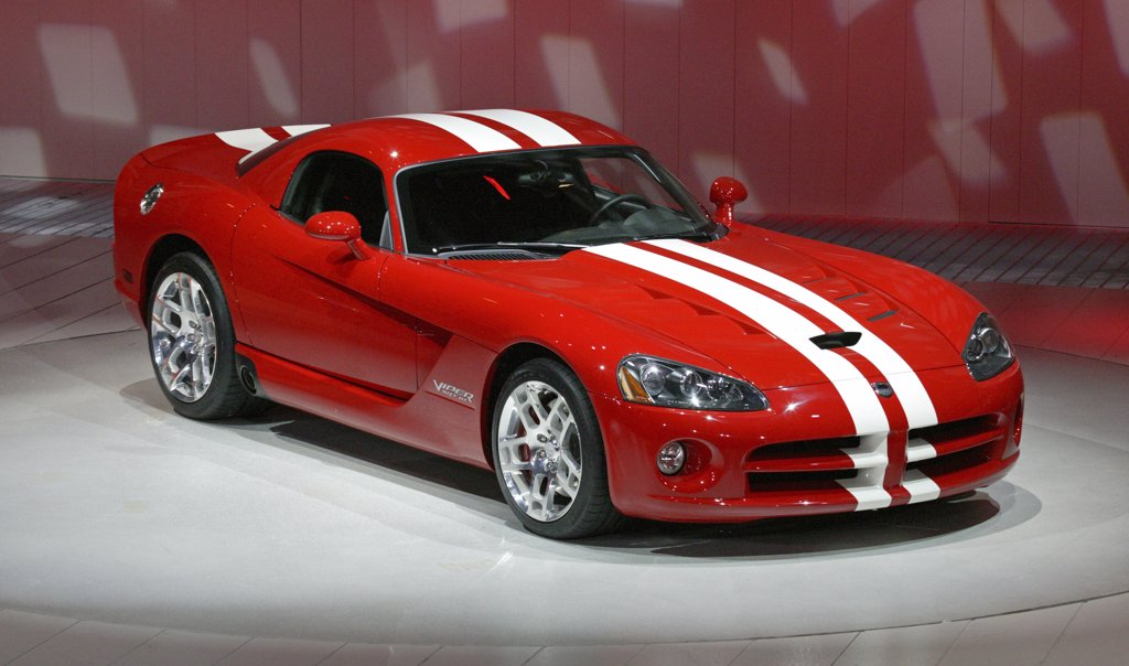 Stock Photo: 4093-7864 2008 Dodge Viper SRT10 SRT-10
