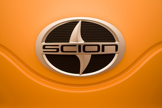 Stock Photo: 4093-9792 detailed view of Scion badge