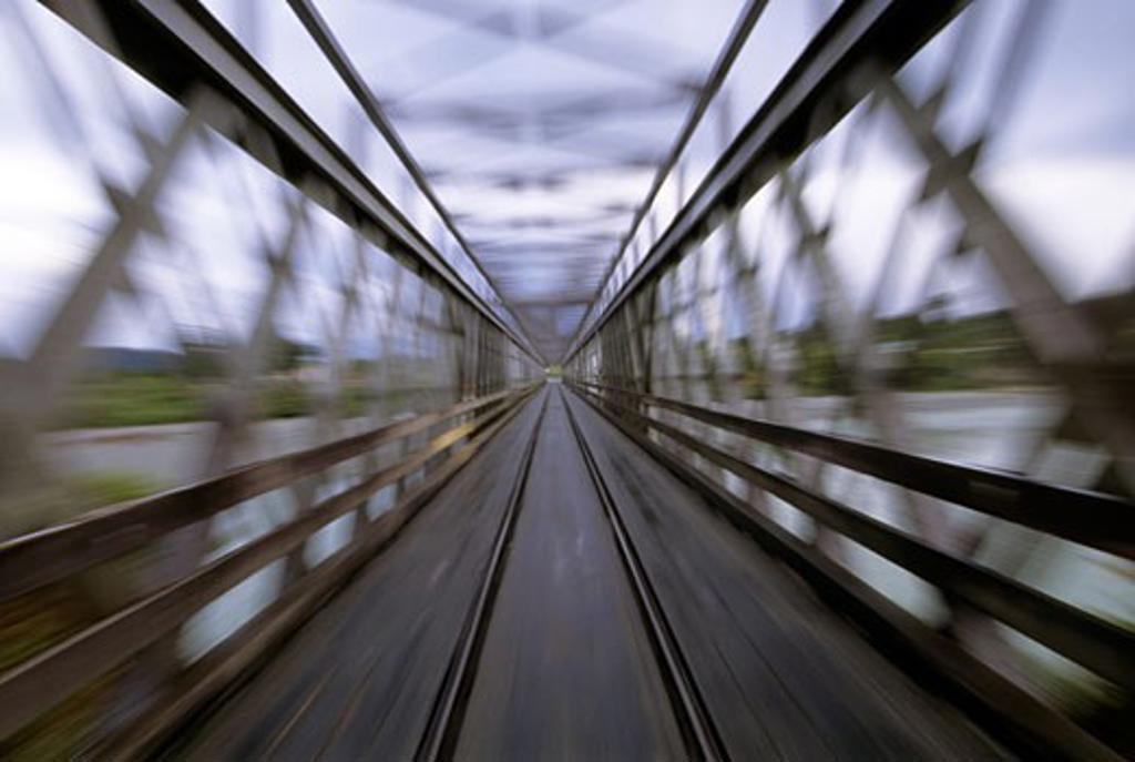 Stock Photo: 4093R-645 bridge
