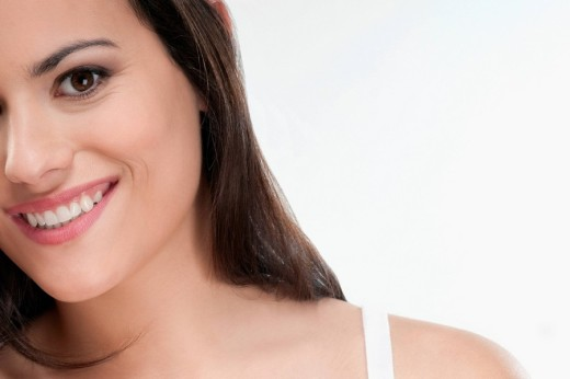 Stock Photo: 4105-1134 Portrait of a woman smiling