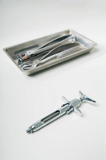 Close_up of dental equipments : Stock Photo