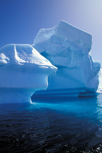 Icebergs in Antarctica. : Stock Photo