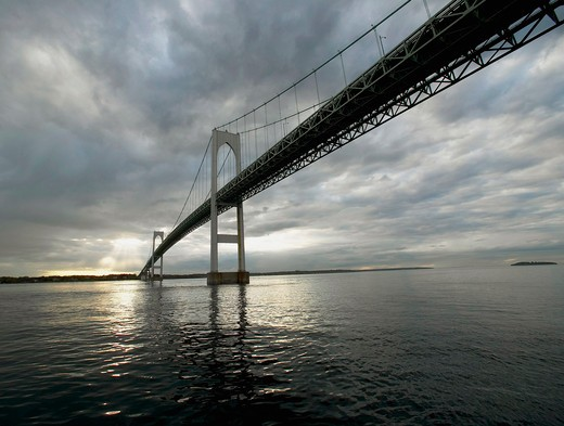 Newport Bridge, Newport, Rhode Island, USA. : Stock Photo