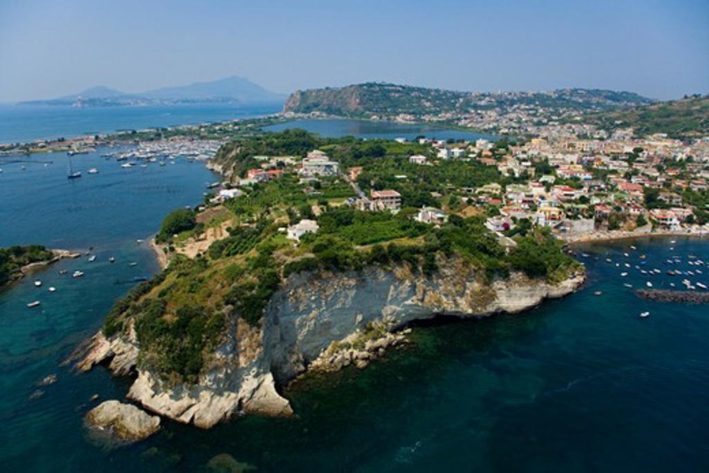 Bacoli (Pozzuoli) near Naples, Campania region, Italy. : Stock Photo