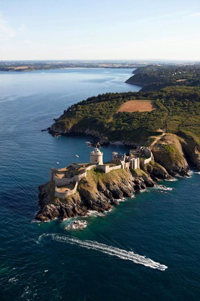 Stock Photo: 4115-3794 Castle of La Latte, Côtes d'Armor, Brittany, France, 2010.