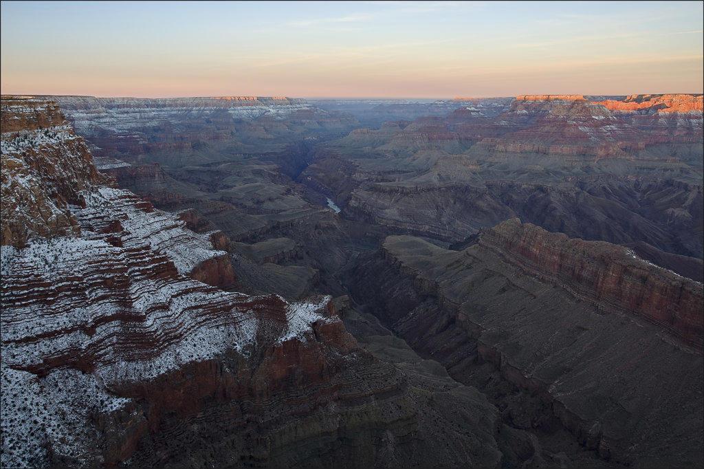 Stock Photo: 4116-427 USA, Arizona, Grand Canyon National Park from Lipan Point