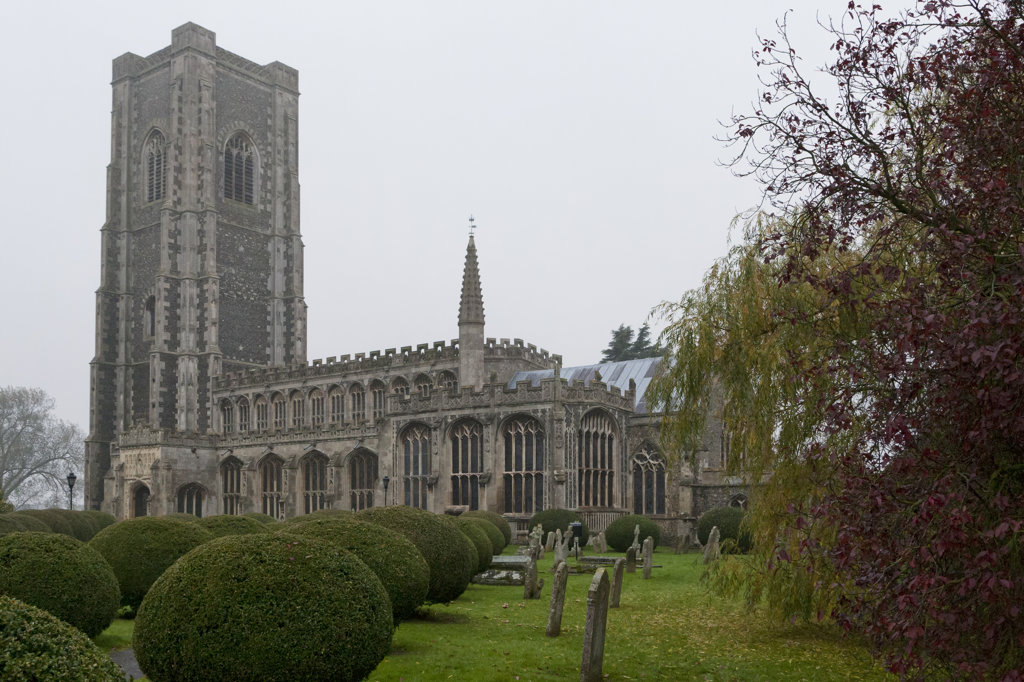 Stock Photo: 4116-886 The Church of St. Peter and St. Paul, Lavenham, Suffolk, England