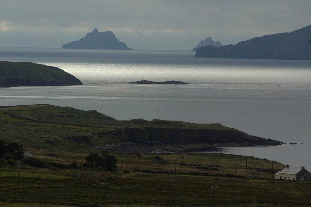 Stock Photo: 4119-4502 Photograph of the Irish coastline