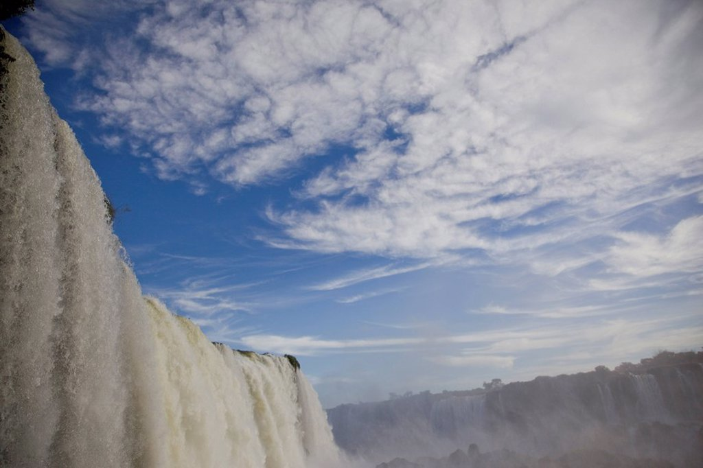 Photograph of the Iguacu Waterfalls in Brazil : Stock Photo