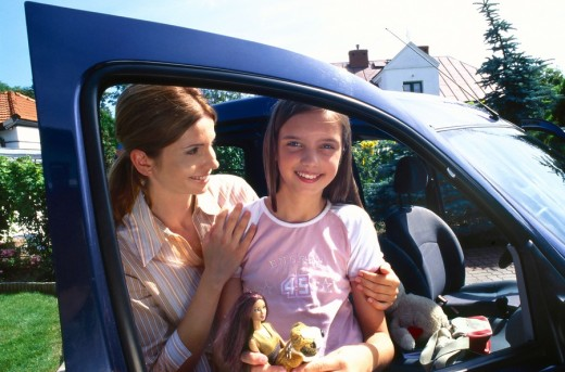 Stock Photo: 4123-11914 Mother with daughter portrait