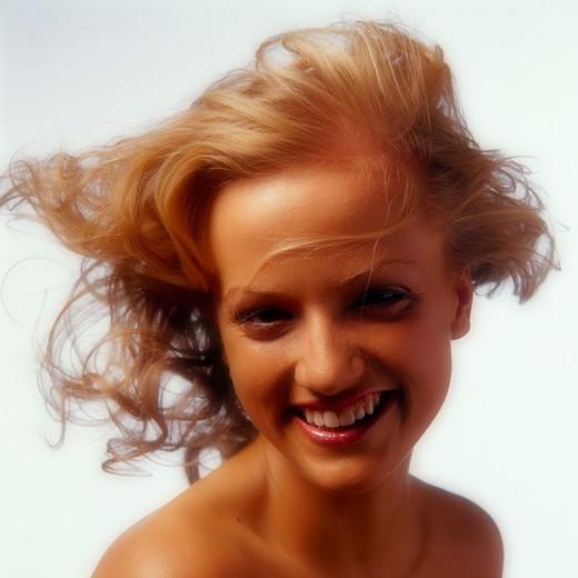 Stock Photo: 4123-12060 Woman portrait