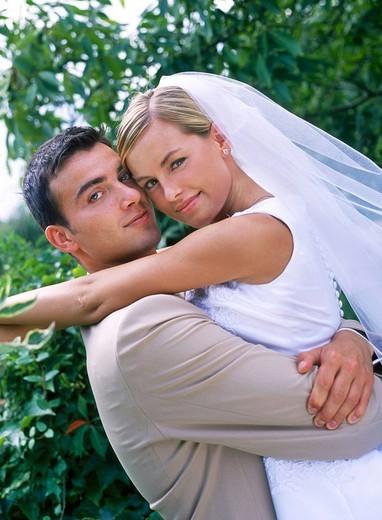 Stock Photo: 4123-13227 Newly weds