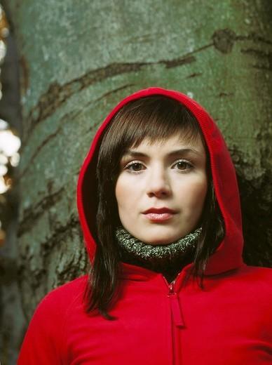 Stock Photo: 4123-1683 Woman portrait