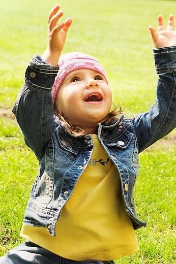 Stock Photo: 4123-19655 Little girl portrait