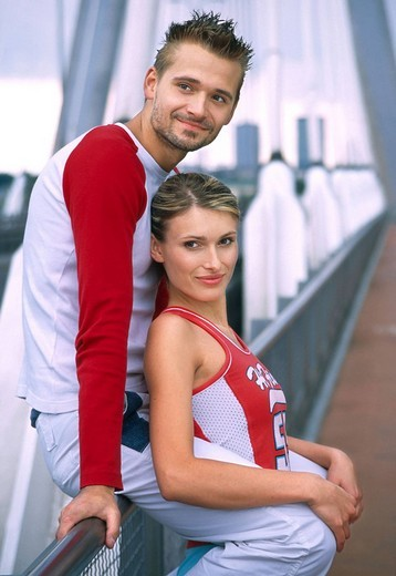 Stock Photo: 4123-2907 Couple portrait