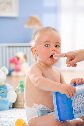 Little child portrait. : Stock Photo