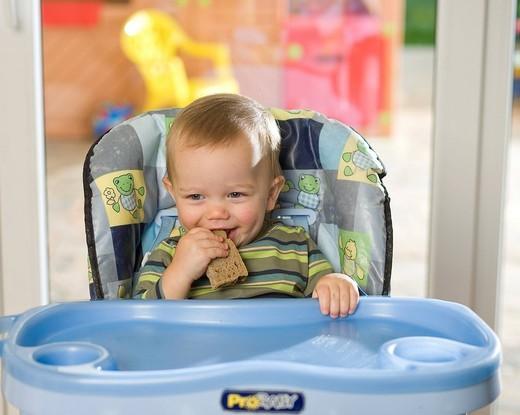 Little boy having a meal. : Stock Photo