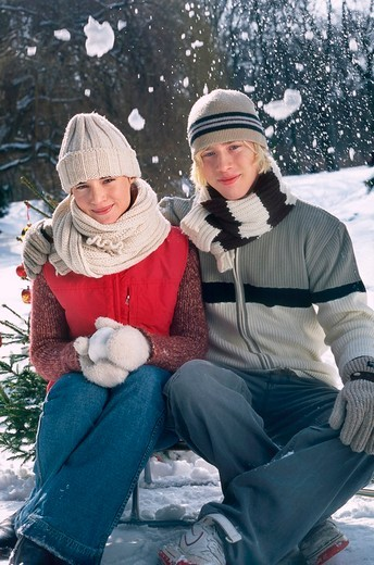 Couple portrait : Stock Photo