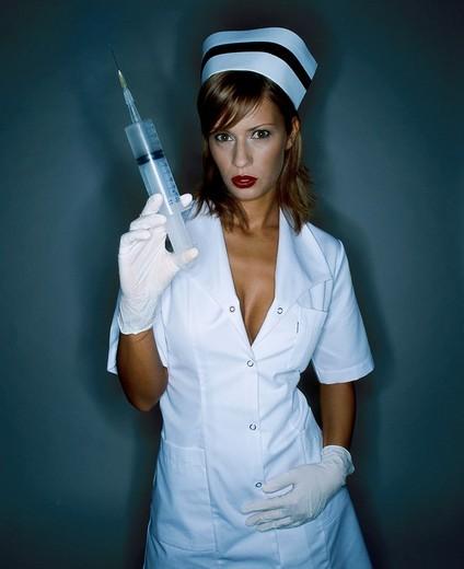 Nurse portrait : Stock Photo