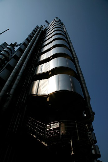 Lloyds Building in Lime Street, City of London, UK : Stock Photo