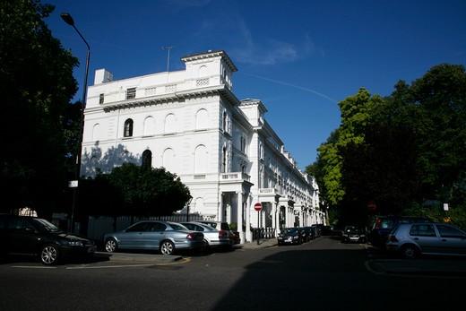 Queens Gate Terrace, South Kensington, London, UK : Stock Photo