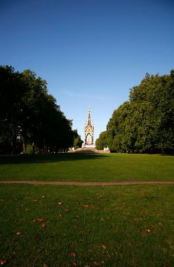 Albert Memorial, Kensington Gardens, London, UK : Stock Photo