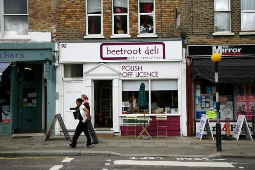 Beetroot Deli on Fleet Road, Gospel Oak, London, UK : Stock Photo