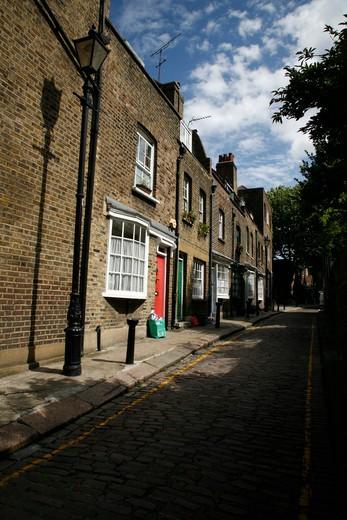 Little Green Street, Gospel Oak, London, UK : Stock Photo