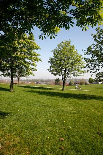 Blythe Hill Fields, Honor Oak Park, London, UK : Stock Photo