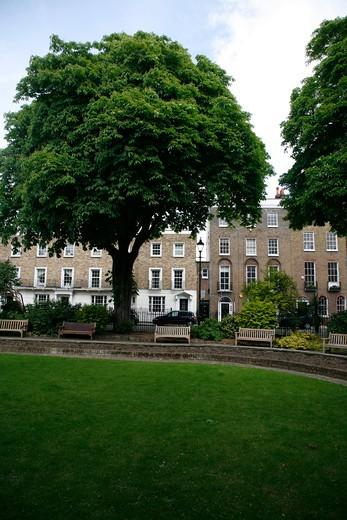 Canonbury Square, Canonbury, London, UK : Stock Photo