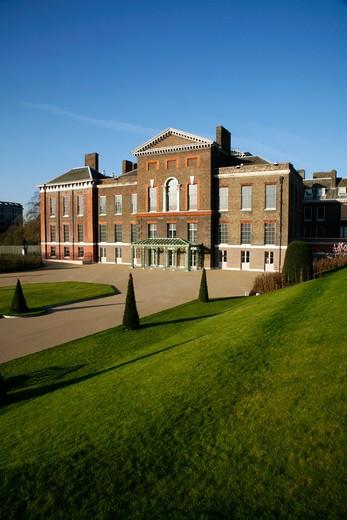 UK, London, Kensington And Chelsea, Kensington Palace, Kensington Gardens, London, UK : Stock Photo