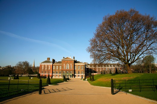 UK, London, Kensington And Chelsea, Kensington Palace, Kensington Gardens, London, UK : Stock Photo