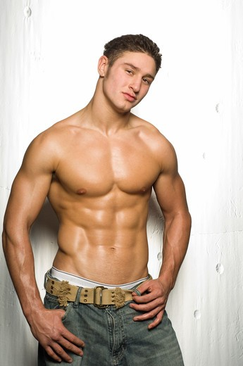 Stock Photo: 4125-167 Boxer posing