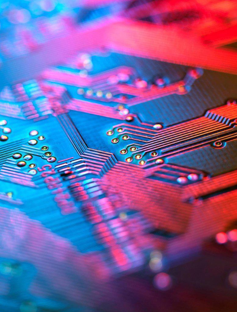 Stock Photo: 4128R-20566 Circuit board