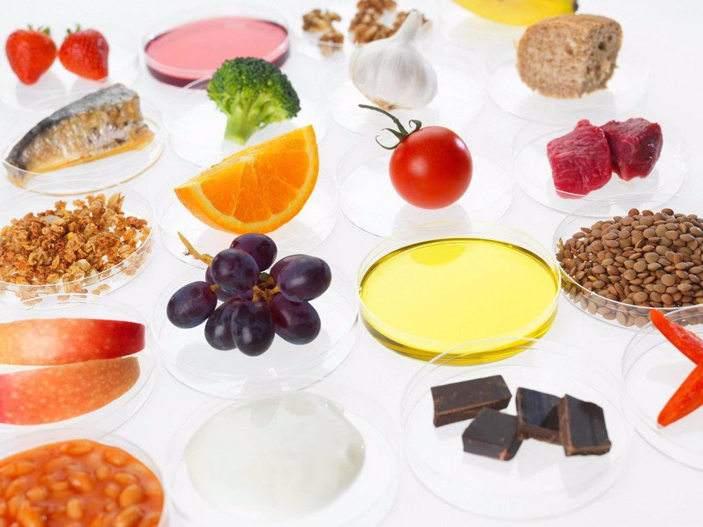 Balanced diet, conceptual image : Stock Photo