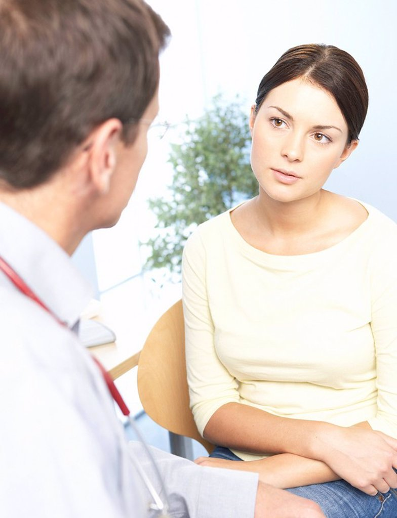 Medical consultation : Stock Photo