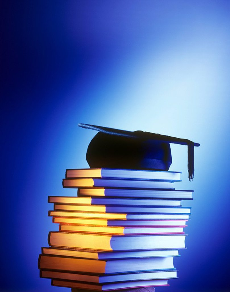 Stock Photo: 4128R-5363 University education