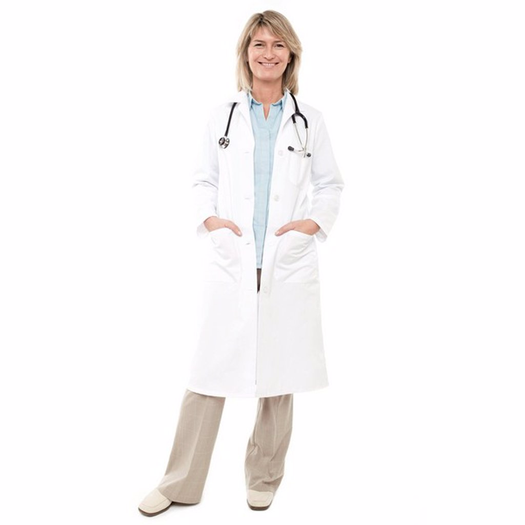 Stock Photo: 4128R-644 MODEL RELEASED. Doctor.