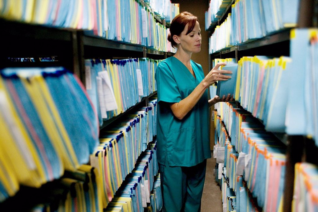 Medical records : Stock Photo