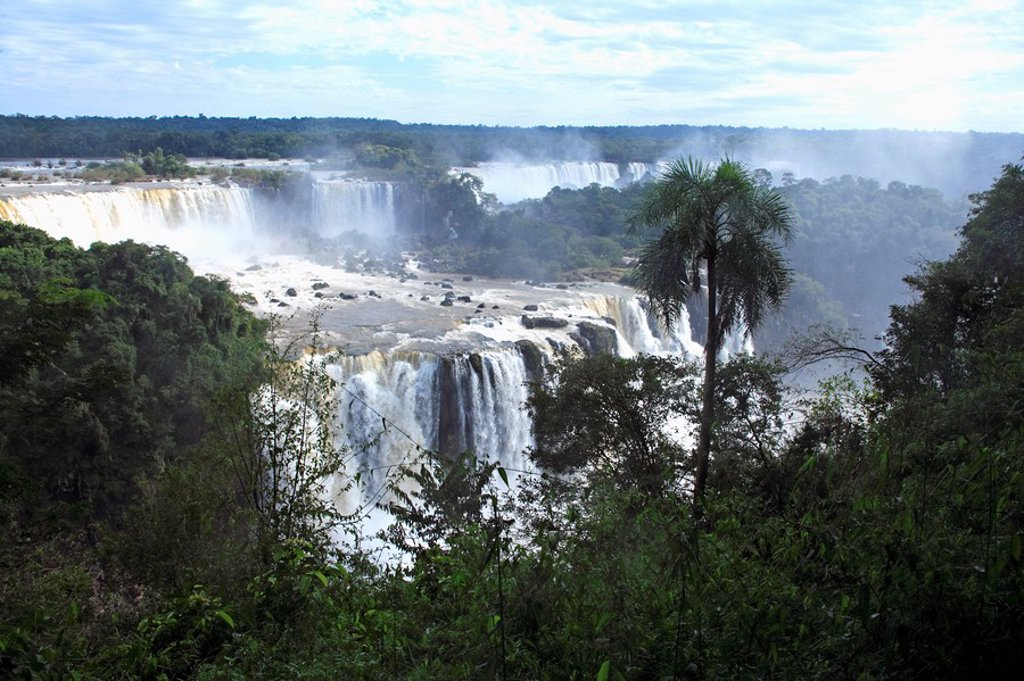 Iguazu Falls,Brazil,Iguazu National Park : Stock Photo
