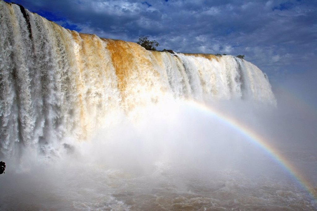 Stock Photo: 4133-17439 Iguazu Falls,Brazil,Iguazu National Park