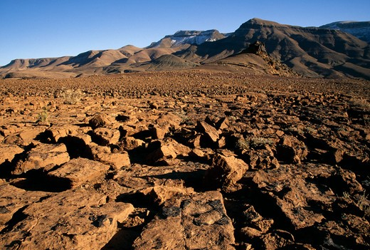 Stock Photo: 4141-1727 taoulaoualt jebel sahro, morocco.