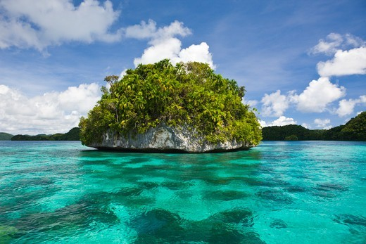 Islands Of Palau, Micronesia, Palau : Stock Photo