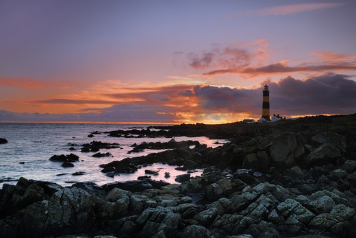 Stock Photo: 4141-8910 st john's point, northern ireland, uk