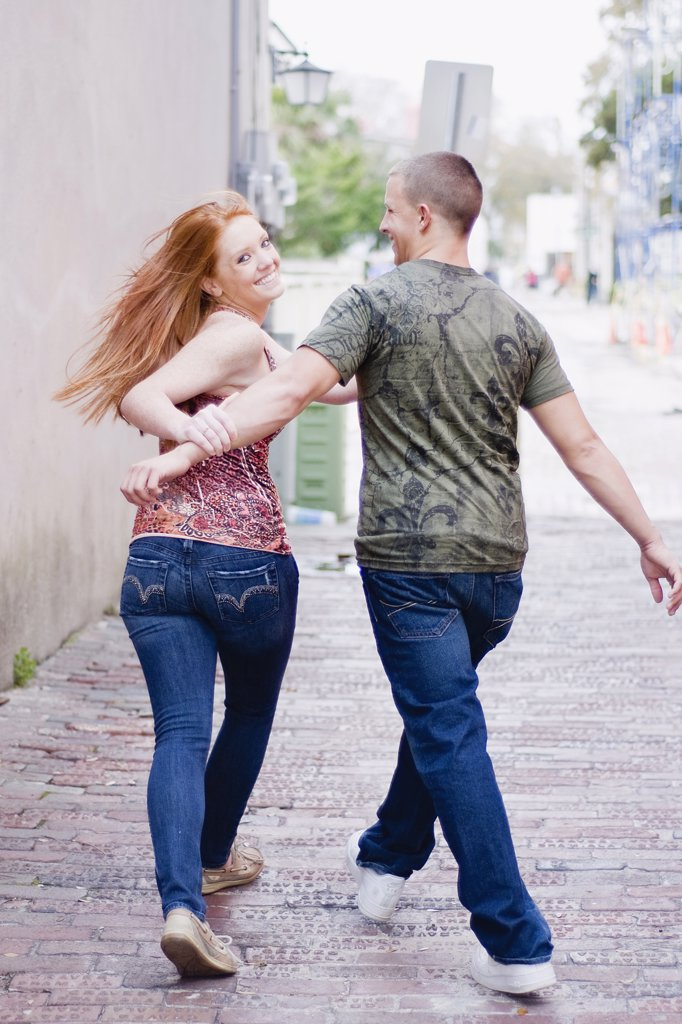 Stock Photo: 4152-250 Romantic young couple